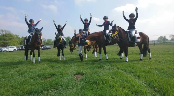 Kleine Pony-Mannschaft siegte in Harsewinkel