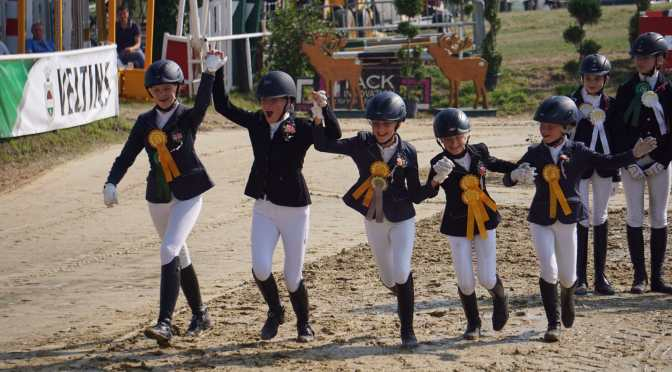 Kleine Pony-Mannschaft – ganz groß!